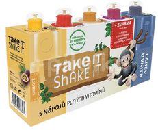 Take it Shake it Opice mix ovocný nápoj 5x20ml