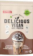 Nutrend Delicious Vegan 60% Protein čokoláda/oříšek 450g