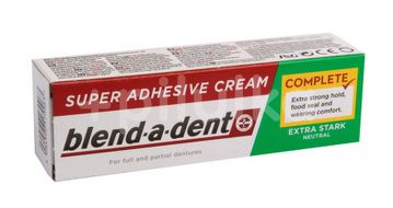 Blend-a-dent fixační krém na zuby Complete Neutral 47g