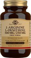 Solgar L-Arginin 500mg – L-Ornitin 250mg 50cps