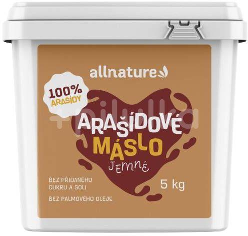 Allnature Arašídové máslo jemné  5kg