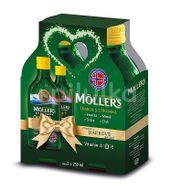 Möllers Omega 3 Citron Vánoční dárkové balení 2x 250ml