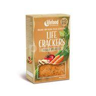 Lifefood LIFE CRACKERS BIO RAW Zeleninové bez soli 90g