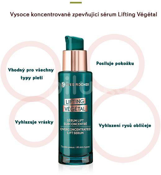 Yves Rocher Vysoce koncentrované zpevňující sérum Lifting Végétal 30ml