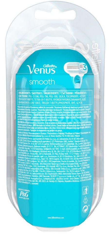Gillette Venus strojek + 2 hlavice