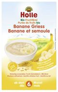 Holle Organická krupicová kaše s banánem 250g