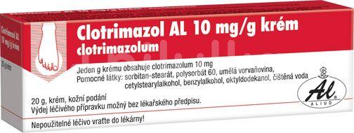 Clotrimazol AL 1% krém 20g