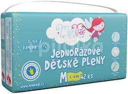 MonPeri Klasik M 5-8kg Eko Jednorázové dětské pleny 42ks