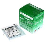 Gázový kompres STERILKOMPRES 5x5 25x2ks