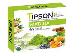 TIPSON BIO Matcha Kazeta Variace 60x1,5g