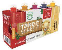 Take it shake it Lev mix ovocný nápoj 5x20ml