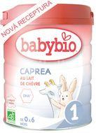 BABYBIO CAPREA 1 plnotučné kozí kojenecké bio mléko 800g