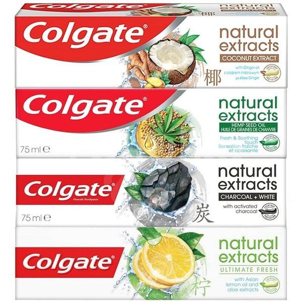 Colgate Naturals Mix zubní pasty 4x75ml