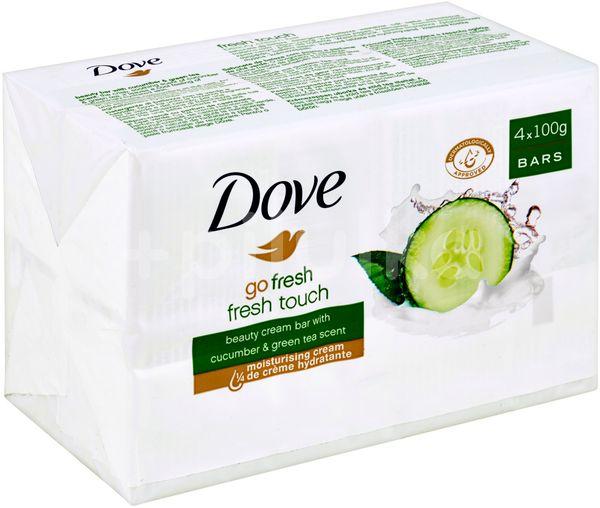 Dove tableta Fresh Touch 4x100g