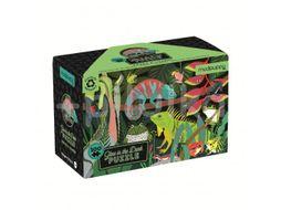 Mudpuppy Svíticí puzzle, Žáby a jěštěrky 100ks