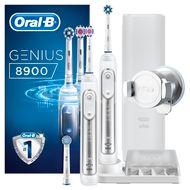 Oral-B Genius 8900 Cross Action Bonus Handle Elektrický zubní kartáček 2ks
