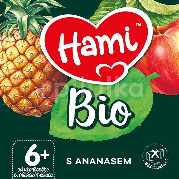 Hami BIO ovocný příkrm S Ananasem 190g, 6+