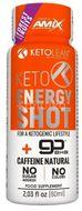 Amix KetoLean Keto goBHB Energy Shot, Lesní ovoce 60ml