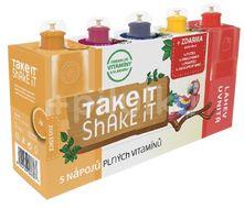 Take it Shake it Papoušek mix ovocný nápoj 5x20ml