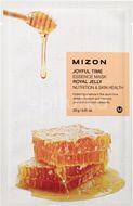 Mizon Joyful Time Essence Mask Royal Jelly Plátýnková maska s vysoce hydratačním a vyživujícím účinkem 23g
