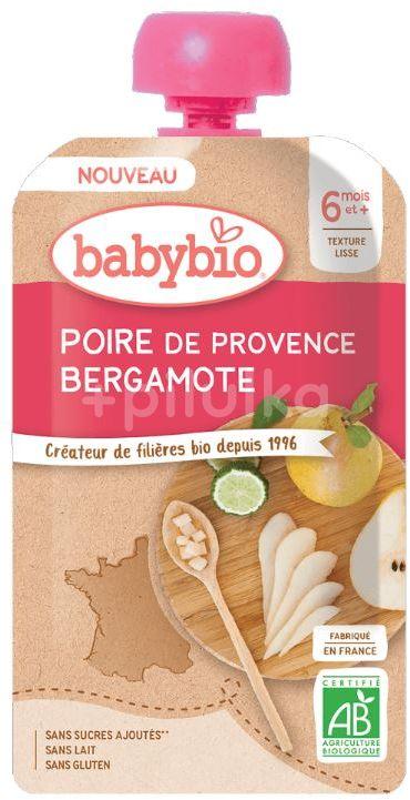 Babybio Hruška Bergamot 120g