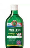 Möller's Omega 3 50+ citrón 250ml