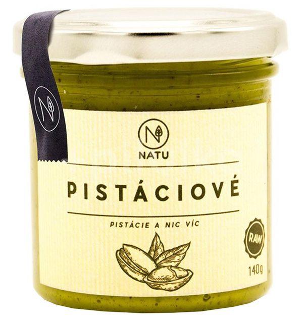 Natu  Pistáciové máslo 140g