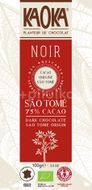 Kaoka Bio hořká čokoláda 75% São Tomé 100g