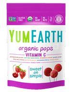 YumEarth Bio Ovocné lízátka s vitamínem C 85g