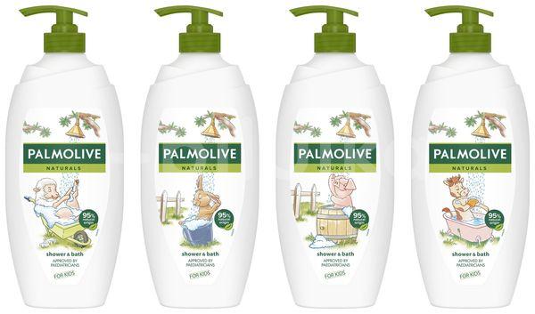 Palmolive Naturals Mandlový sprchový gel pro děti s pumpičkou 750ml