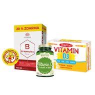 Vitamínový balíček Standard Vitamín C+Vitamín D3+B-komplex