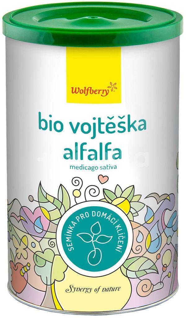 Wolfberry  Alfalfa semínka vojtěšky BIO semínka na klíčení 200g