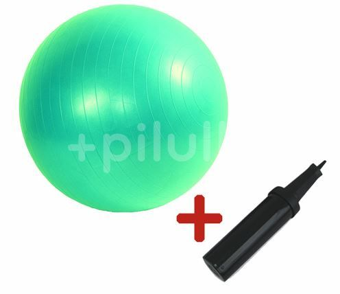 Gymy ABS Míč zesílený zelený průměr 85 cm +hustilka