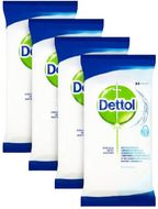 Dettol Antibakteriální ubrousky na povrchy 4x84 ks (3+1)