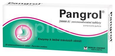 Pangrol 20000 Enterosolventní tablety 20 ks