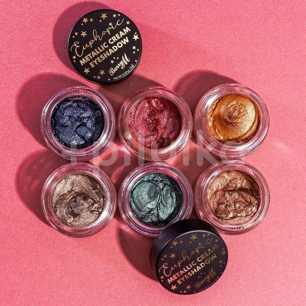 BarryM Euphoric Metallic Eyeshadow Creams krémové oční stíny, Honoured 5g