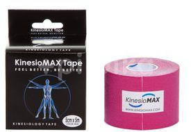 Tejp. KinesioMAX kinesio tape růžová 5cmx5m