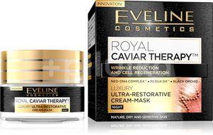 Eveline Royal Caviar - Protivráskový ultra výživný noční krém-maska  50ml