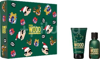 Dsquared2 Green Wood Set Eau de Toilette 30ml + Bath&Shower Gel 50ml