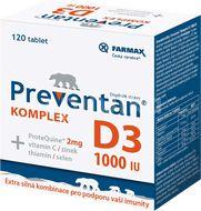 Preventan Komplex D3 1000 IU 120 tablet