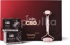 I am CBD Dárkový Beauty box - Day & Night krém + Roller