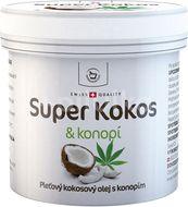 Herbamedicus Super Kokos a konopí pleťový olej 150ml