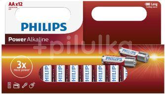 Philips Alkalické baterie LR6P12W/10 12ks