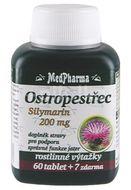 MedPharma Ostropestřec (Silymarin 200mg) 67 tablet