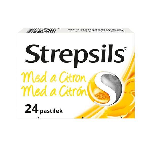 Strepsils Med a Citron 0.6mg/1.2mg 24 pastilek