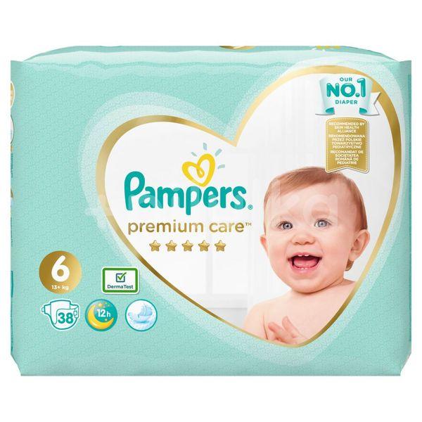 Pampers Premium Care S6 38ks, 13+kg