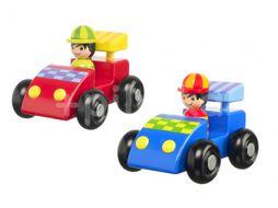 Orange Tree Toys Moje první závodní auta 2ks