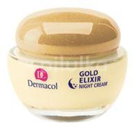 Dermacol Gold Elixir noční krém 50ml