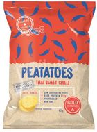 GoldNutrition Peatatoes proteinové chipsy sweet chilli 40g
