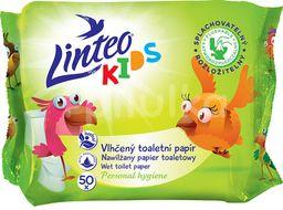 LINTEO Vlhčený toaletní papír KIDS splachovatelný 50ks